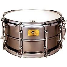 Pork Pie Polished Raw Iron Snare Drum