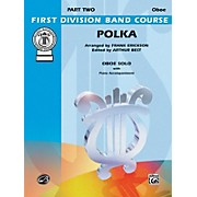 Alfred Polka Oboe Solo First Division Band Course