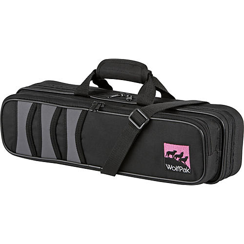 WolfPak Polyfoam Flute Case Black