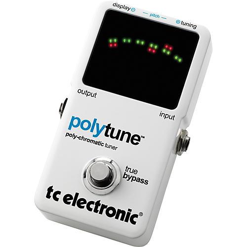 TC Electronic Polytune Chromatic Pedal Tuner