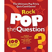Music Sales Pop The Question Rock - The Ultimate Pop Trivia Quiz Card Game