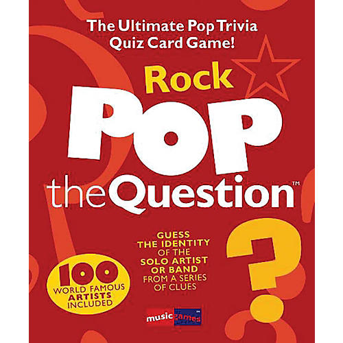 Music Sales Pop The Question Rock - The Ultimate Pop Trivia Quiz Card Game-thumbnail