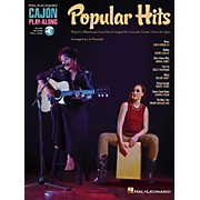 Hal Leonard Popular Hits (Cajon Play-Along) Percussion Series Softcover Audio Online Performed by Various
