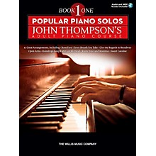 Hal Leonard Popular Piano Solos - John Thompson's Adult Piano Course Book 1 Book/Audio Online