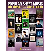 Hal Leonard Popular Sheet Music - 30 Hits from 2014-2016 Piano/Vocal/Guitar Songbook