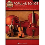 Hal Leonard Popular Songs (Orchestra Play-Along Volume 1) Orchestra Play-Along Series Softcover with CD