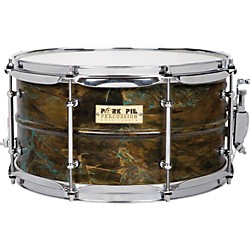 Pork Pie Brass Patina Snare Drum (PP7X13PB)