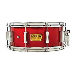 Pork Pie Little Squealer Birch/Mahogany Shell Snare Drum (PP6.5X14LSBC)
