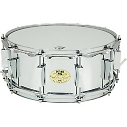 Pork Pie Little Squealer Steel Snare Drum (PP6X14LSS)