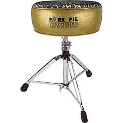 Pork Pie Round Drum Throne (PPRTHGGLDL)