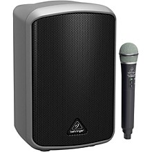 Behringer Portable 100-Watt Speaker with Wireless Microphone, Bluetooth* Connectivity and Battery Operation