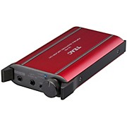 TEAC Portable Headphone Amplifier w/USB DAC. Red Color