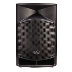 Power Acoustik P-15AUI Powered 15in Full Range PA System w/ iPod Dock (P-15AUI)