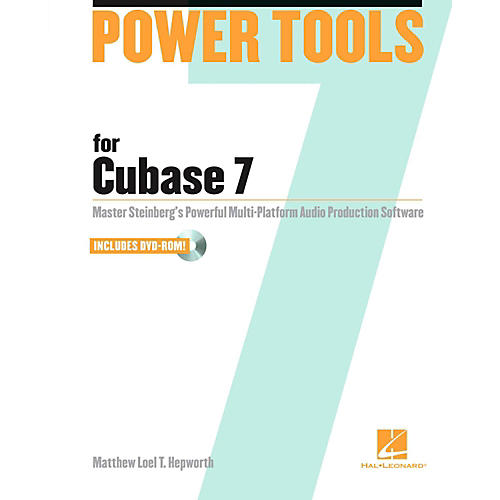 Hal Leonard Power Tools for Cubase 7 Book/DVD-ROM-thumbnail