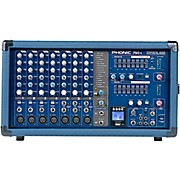 Phonic Powerpod 750R 500W 7-Channel Powered Mixer with USB Recorder
