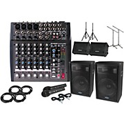 "Phonic Powerpod 820 with 15"" S715 Mains and Monitors Package"