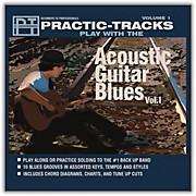 Hal Leonard Practice Tracks Acoustic Guitar Blues Vol 1 Play Along CD