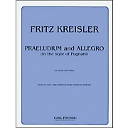 Carl Fischer Praeludium And Allegro