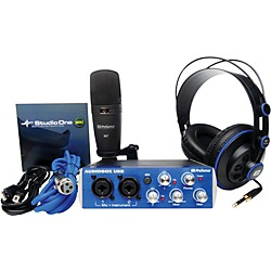 PreSonus AudioBox Studio Recording Bundle (ABOX STUDIO)