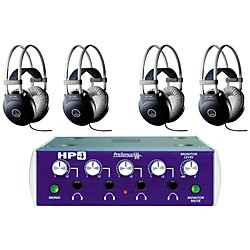 PreSonus HP4 and M80 MKII Headphone Package (4-pack) (LW AKG 4-pack)