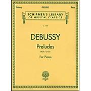 G. Schirmer Preludes By Debussy