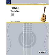 Schott Preludio (Guitar Solo) Schott Series