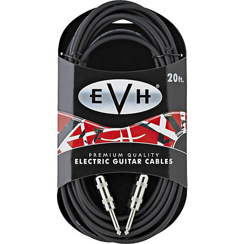 EVH Premium Electric Guitar Cable - Straight Ends 20 ft.-thumbnail