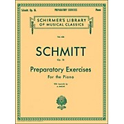 G. Schirmer Preparatory Exercises Op 16 Piano By Schmitt