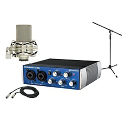 Presonus AudioBox USB 2x2 MXL Package (AudioBox MXL Package)