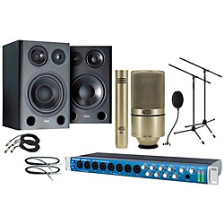 Presonus Audiobox 1818VSL MXL Package Plus (1818VSL 990/991 Package)