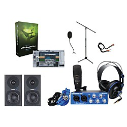 Presonus Audiobox Complete Desktop Recording Bundle (AboxPkg1)