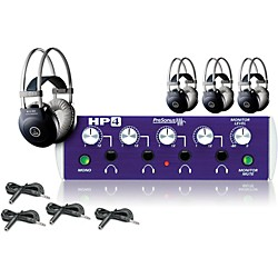 Presonus HP4 and M80 MKII Headphone Package Plus (4-pack) (HP4 AKG 4-pack Plus)