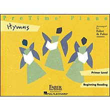 Faber Piano Adventures Pretime Piano Hymns Primer Level Beginning Reading - Faber Piano