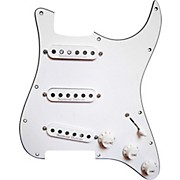 Seymour Duncan Prewired Pickguard with California 50's SSL-1 Pickups White