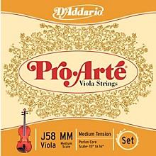 D'Addario Pro-Art Series Viola String Set