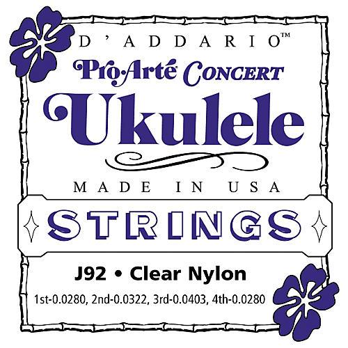 D'Addario Pro Arte J92 Concert Ukulele Strings-thumbnail