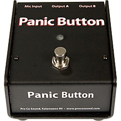 Pro Co Panic Button Mic A/B Box (CDPB)
