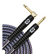 Analysis Plus Pro Oval Studio Instrument Cable with Overmold Gold Plug w/Straight-Angle Plugs