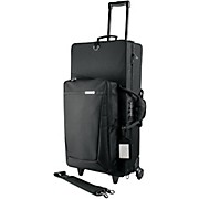 Protec Pro Pac Alto and Straight Soprano Saxophone Combination Case with Wheels