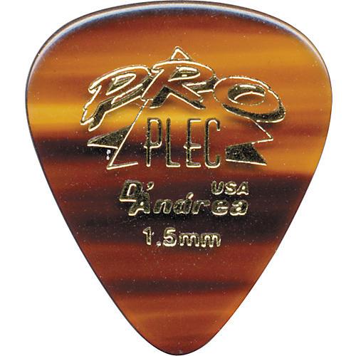 D'Andrea Pro Plec Standard 351 Guitar Picks - One Dozen Shell 1.5 mm