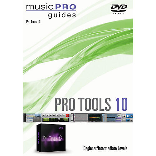 Hal Leonard Pro Tools 10 Beginner/Intermediate Level Music Pro Guide Series DVD-thumbnail