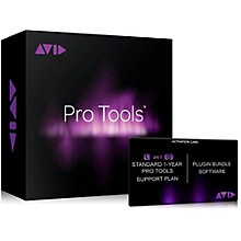 Avid Pro Tools Annual Tech Support & Plugins Plan For Pt 12 Users (Activation Card)