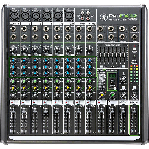 Mackie ProFX12v2 12-Channel Professional FX Mixer with USB-thumbnail