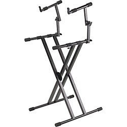 ProLine PL402 2-Tier Double X-Braced Keyboard Stand (PL402)