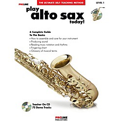 ProLine Play Alto Sax Today Book/CD (121296)