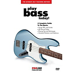 ProLine Play Bass Today! (DVD) (320386)