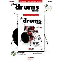 ProLine Play Drums Today! (Book/DVD Pack) (699610)