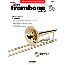 ProLine Play Trombone Today Book/CD (121302)