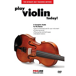 ProLine Play Violin Today DVD (121312)