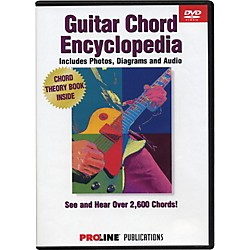 ProLine Proline Picture Chord Encyclopedia DVD (320562)